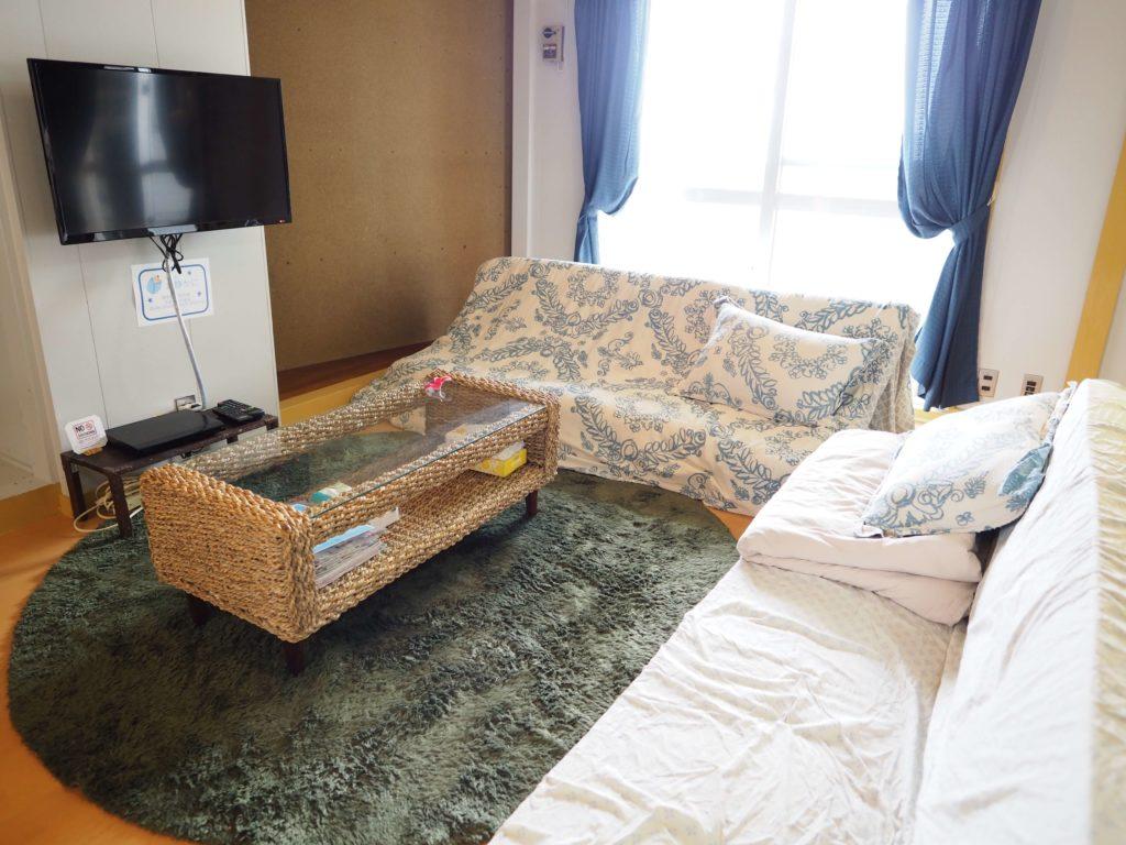 リビング|Holiday Homes TSUBOYA 5th
