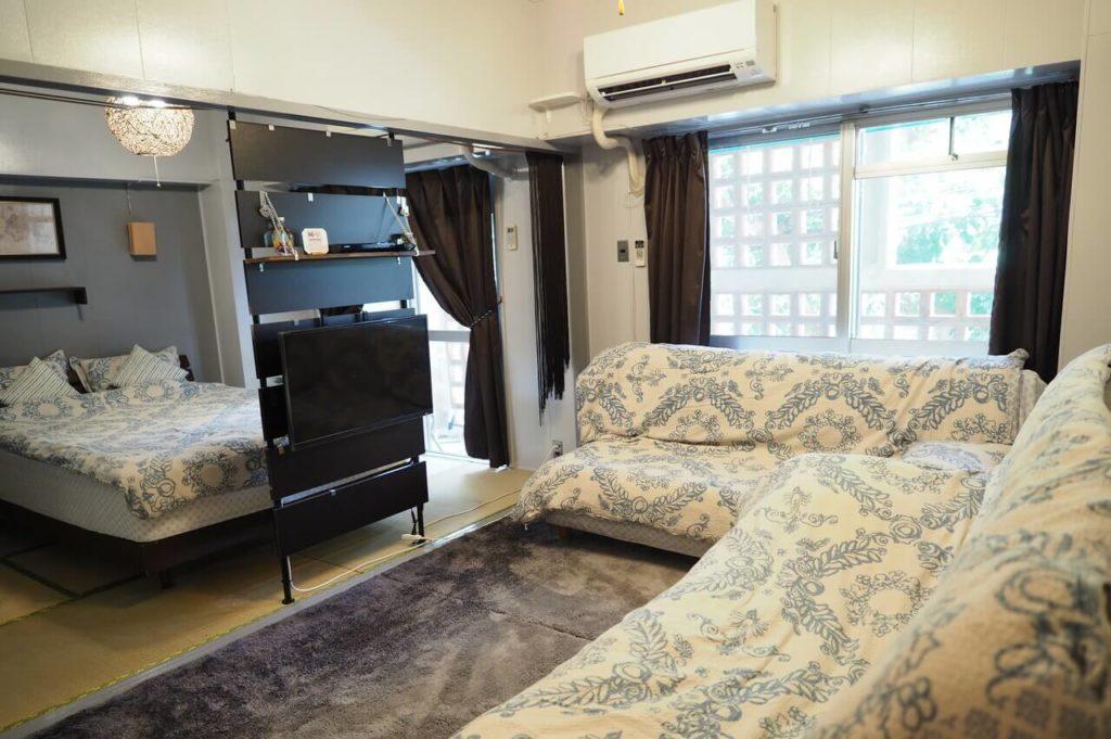 リビング|Holiday Homes TSUBOYA 6th