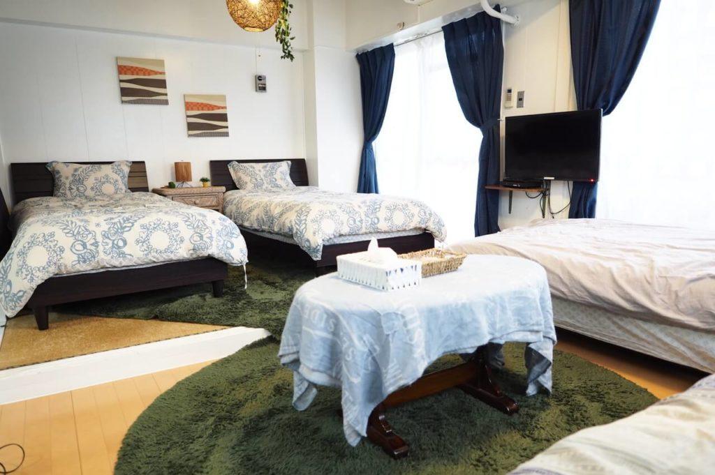 リビング|Holiday Homes TSUBOYA 4rd
